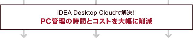 iDEA Desktop Cloudで解決!PC管理の時間とコストを大幅削減
